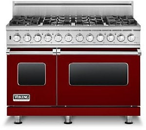 Viking Professional Custom Series VDSC5488BARLP - Apple Red