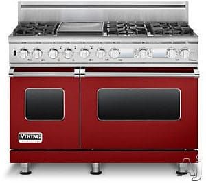 Viking Professional Custom Series VDSC548T6GARLP - Apple Red