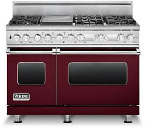 Viking Professional Custom Series VDSC548T6GBULP - Burgundy