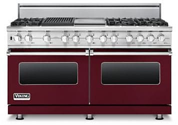 Viking Professional Custom Series VDSC5606GQBULP - Burgundy