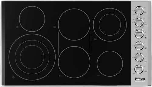 "Viking Professional Series VEC5366BSB - 36"" Electric Cooktop"