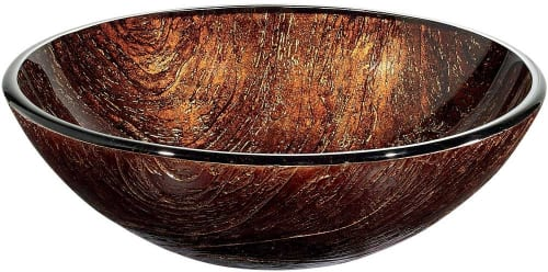 Vigo Industries VG07029 - Kenyan Twilight Glass Vessel Sink