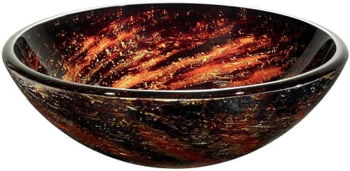 Vigo Industries VG07037 - Northern Lights Glass Vessel Sink