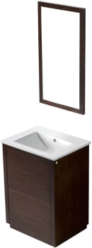 Vigo Industries VG09020118K - Wenge Finish with Mirror