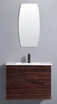 Vigo Industries VG09038109Kx - Ebony Finish with Mirror