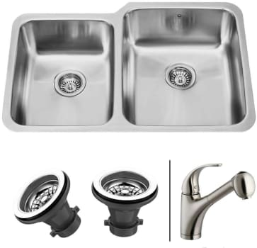 Vigo Industries Premium Collection VG14010 - Undermount Stainless Steel Kitchen Sink