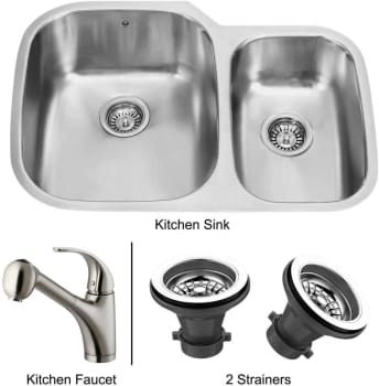 Vigo Industries Premium Collection VG14011 - Undermount Stainless Steel Kitchen Sink