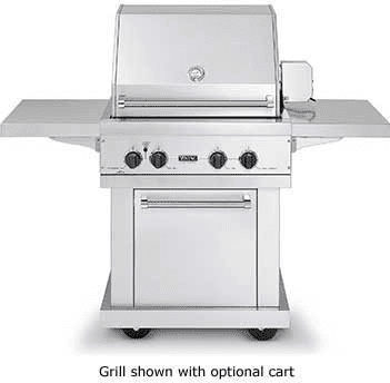 Viking Vgbq3002rtl 30 Inch Built In Gas Grill With 563 Sq In Cooking Surface Stainless Steel Grill Burner Dual Purpose Grill Smoker Burner Gourmet Glo Infrared Rotisserie And Push Button Electronic Ignition Liquid Propane
