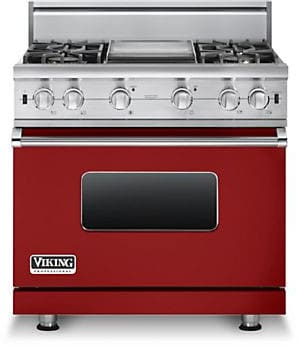 Viking Professional Custom Series VGCC5364GARLP - Apple Red