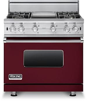 Viking Professional Custom Series VGCC5364GBULP - Burgundy
