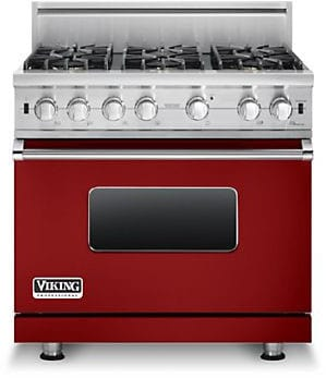 Viking Professional Custom Series VGCC5366BARLP - Apple Red
