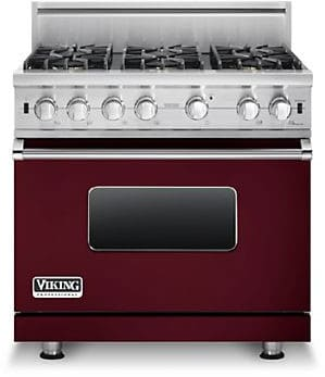 Viking Professional Custom Series VGCC5366BBU - Burgundy