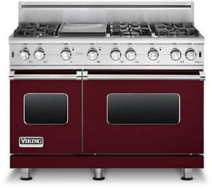 Viking Professional Custom Series VGCC5486GBULP - Burgundy