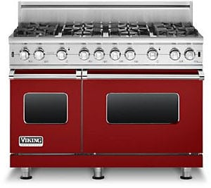 Viking Professional Custom Series VGCC5488BARLP - Apple Red
