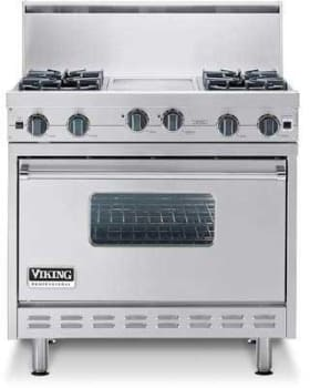 Viking Professional Series Vgic3654gss Featured View With Optional Backguard
