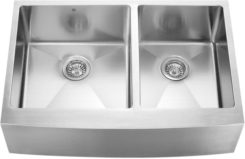 Vigo Industries VGR3320BLx - Stainless Steel Farmhouse Kitchen Sink
