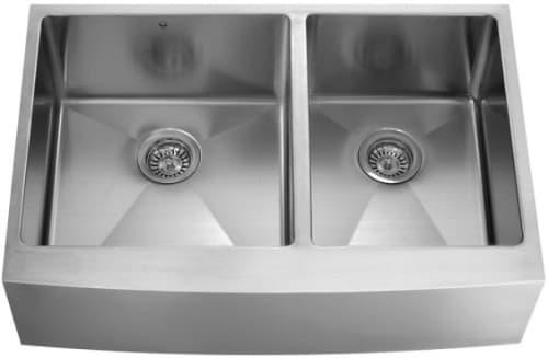 Vigo Industries Kitchen Sink Collection VGR3620BLK1 - Featured View