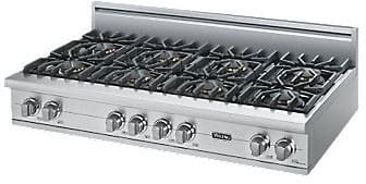 "Viking Professional Custom Series VGRT5488BSS - 48"" Sealed Burner Rangetop"