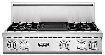 "Viking Professional 7 Series VGRT7364GSS - 36"" 7 Series Gas Rangetop"
