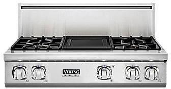"Viking Professional 7 Series VGRT7364GSSLP - 36"" 7 Series Gas Rangetop"