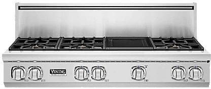 "Viking Professional 7 Series VGRT7486GSS - 48"" 7 Series Gas Rangetop"