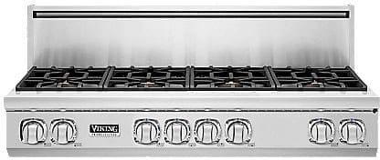 "Viking Professional 7 Series VGRT7488BSSLP - 48"" 7 Series Gas Rangetop"