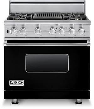 Viking Professional Custom Series VGSC5364QBK - Black