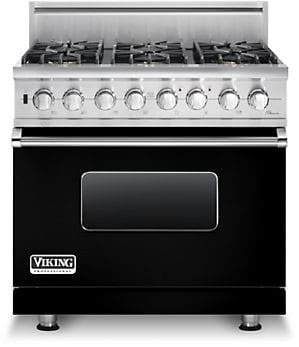 Viking Professional Custom Series VGSC5366BBK - Black