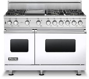Viking Professional Custom Series VGSC5486GWH - White