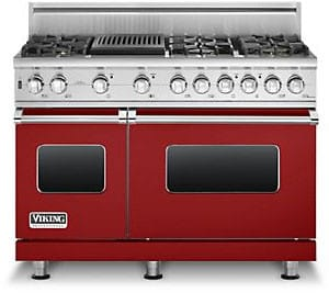 Viking Professional Custom Series VGSC5486QAR - Apple Red