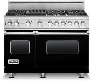 Viking Professional Custom Series VGSC5486QBKLP - Black