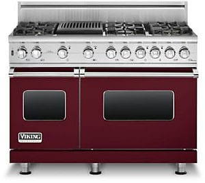 Viking Professional Custom Series VGSC5486QBU - Burgundy