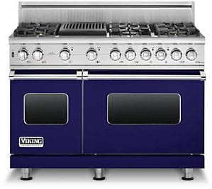 Viking Professional Custom Series VGSC5486QCB - Cobalt Blue