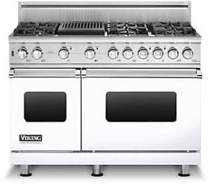 Viking Professional Custom Series VGSC5486QWHLP - White