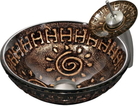 Vigo Industries Vessel Sink Collection VGT024BNRND - Aztec