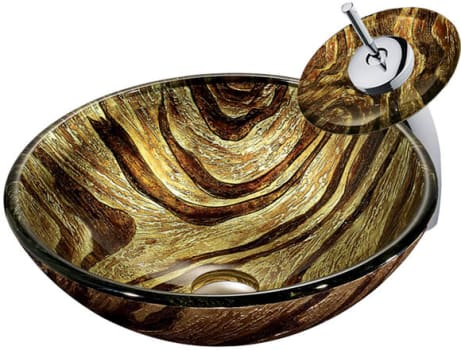 Vigo Industries Vessel Sink Collection VGT028CHRND - Featured View