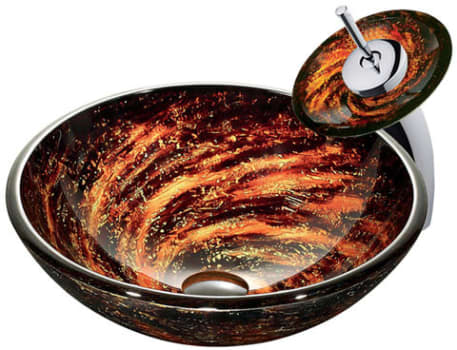 Vigo Industries Vessel Sink Collection VGT031CHRND - Featured View