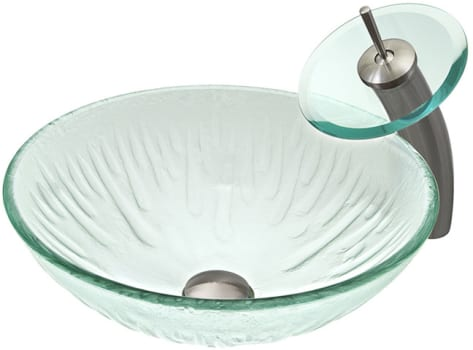 Vigo Industries Vessel Sink Collection VGT034BNRND - Icicles