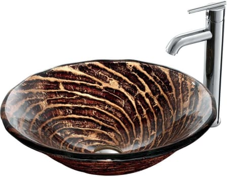 Vigo Industries Vessel Sink Collection VGT165 - Bathroom View