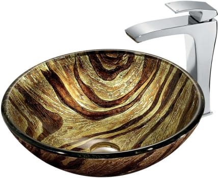 Vigo Industries Vessel Sink Collection VGT178 - Bathroom View