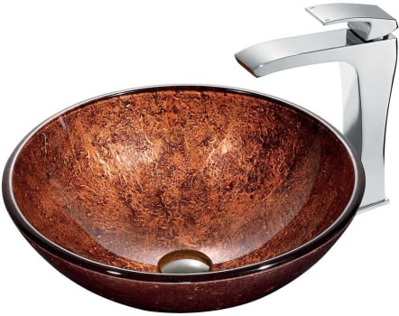 Vigo Industries Vessel Sink Collection VGT179 - Bathroom View