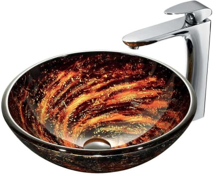 Vigo Industries Vessel Sink Collection VGT189 - Bathroom View