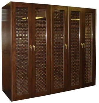 Vinotemp Reserve Series VINO1500G - 1500-Model Wine Cabinet with 5 Glass Doors