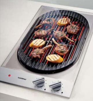 Gaggenau Vr230612 12 Inch Modular Electric Indoor Barbecue