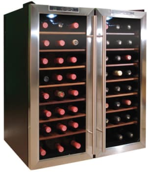 Vinotemp Eco Series VT48TEDS2Z - Stainless Steel