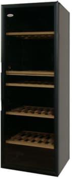 Vinotemp VinoCellier Series VTCAVEG - Black Glass Door