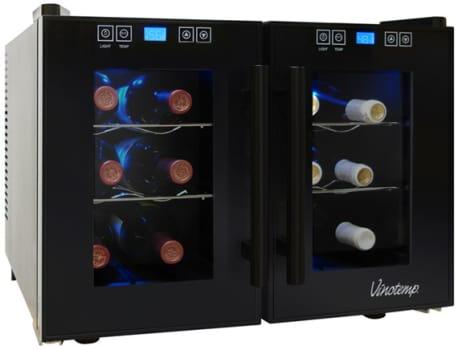 Vinotemp Eco Series VT12TEDTS2Z - Black