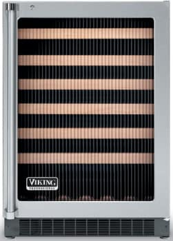 Viking Professional Series VUWC1441FRSS - Fluted Glass Door