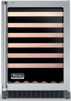 Viking Professional Series VUWC1441X - Clear Glass Door