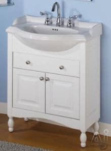 Empire Industries Windsor Collection W26W - White